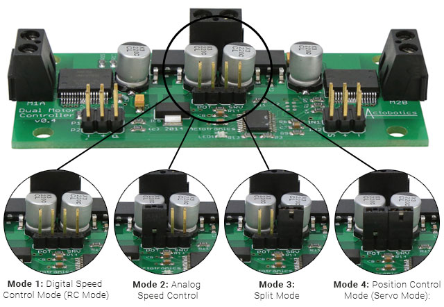 Assembled-Motor-Driver-Modes-(jumper-placement)